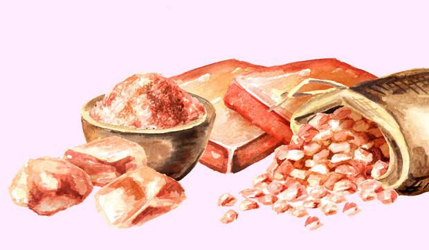 Гималайская соль —польза или вред. Как правильно использовать?