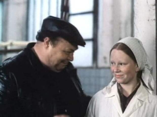 Вячеслав Невинный и Марьяна Полтева в фильме «Не ходите девки замуж», 1985 год