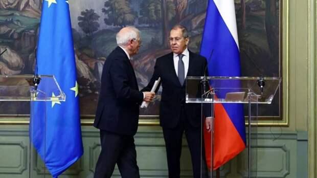Боррель провалил свою миссию в Москве