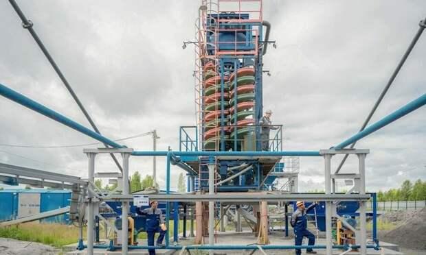 ВТомской области запустили уникальную установку попереработке золы