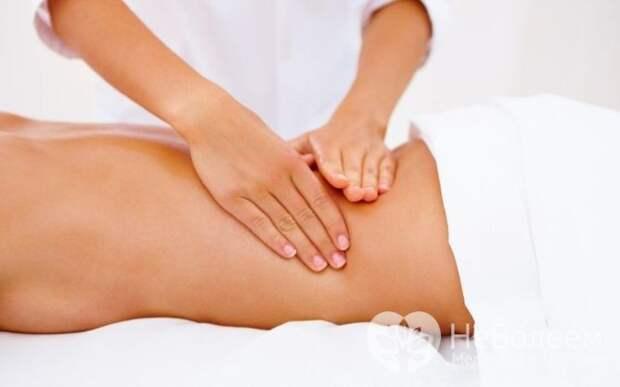 Польза и вред массажа при поясничном радикулите