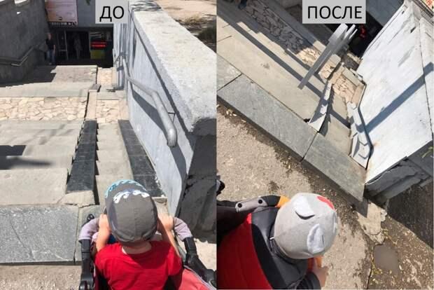 «Просите и допроситесь»: Как в Симферополе происходит благоустройство территории