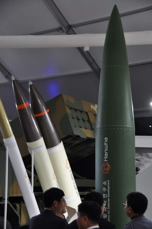 Первое успешное испытание южнокорейской баллистической ракеты Hyunmoo 4