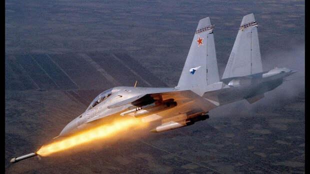 Истребители ВКС РФ нанесли мощный ракетный удар по боевикам в Идлибе