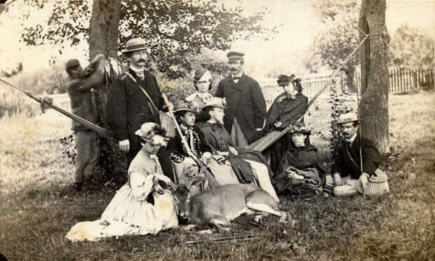 Редкие исторические фотографии, рассказывающие о жизни в США в 19-м столетии