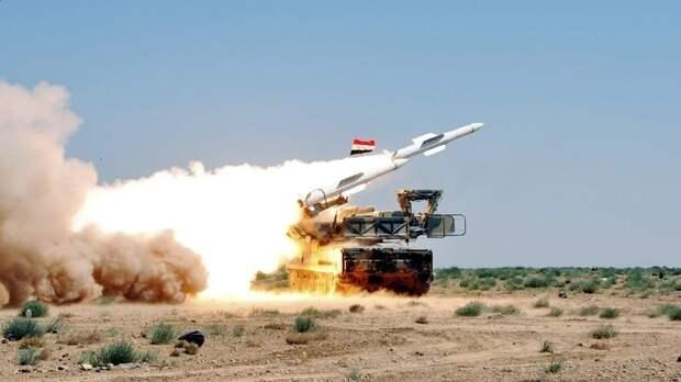 Сирийские зенитчики сбили большую часть израильских ракет