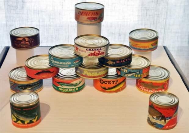 Благодаря супруге Молотова в СССР было налажено массовое производство рыбных консервов / Фото: back-in-ussr.com