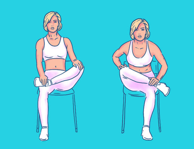 офисная йога для спины