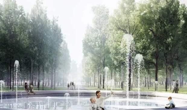 Поющий фонтан протестировали внижегородском парке «Швейцария»