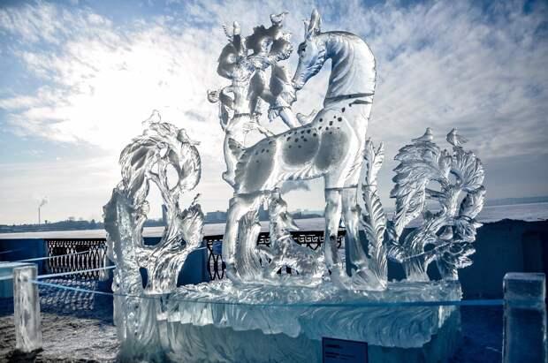 Работы по созданию скульптур к фестивалю «Удмуртский лёд» начнутся 27 января
