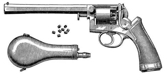 Револьвер Галана в России: серийное против уникального