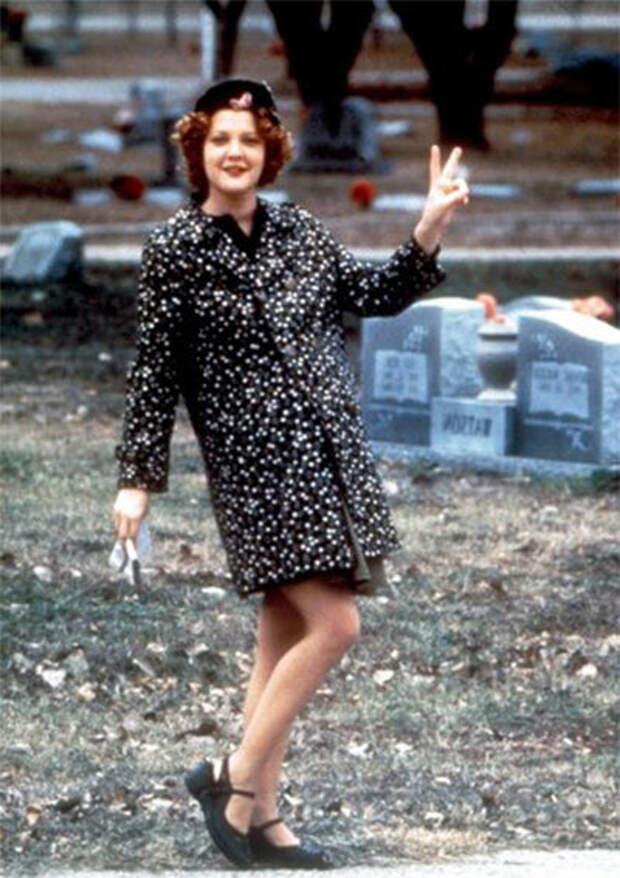 Кинороли актрисы Дрю Бэрримор в 1990-е годы