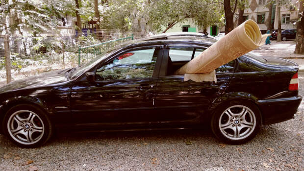 Маме не объяснишь, что это BMW!