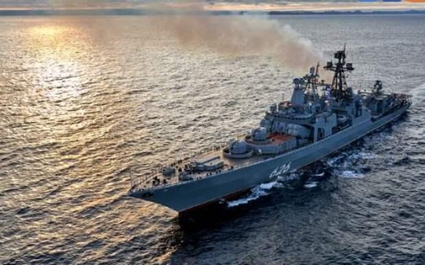 Русские военные корабли одним запросом поставили в тупик Минобороны Испании