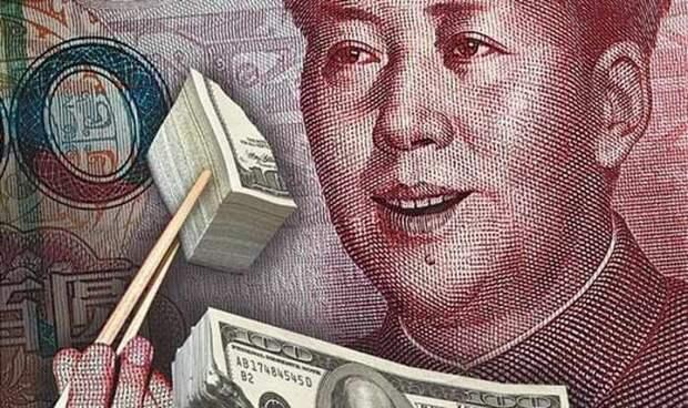 За отказ Китая от доллара придется заплатить Британии