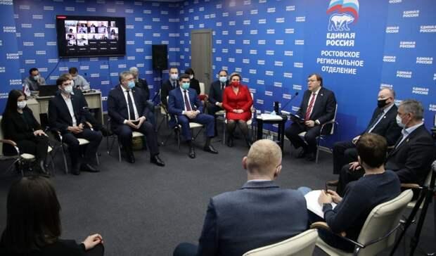 ВРостовской области определяют будущих кандидатов вГосдуму