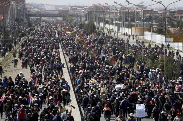 Боливия: кому выгоден кризис?