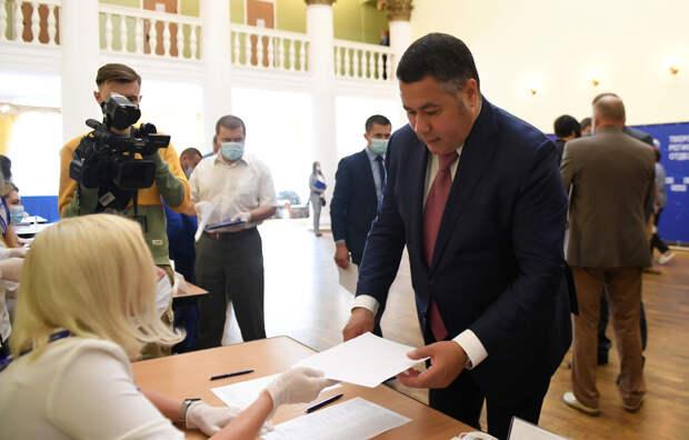 Тверского губернатора избрали секретарем регионального отделения «Единой России»