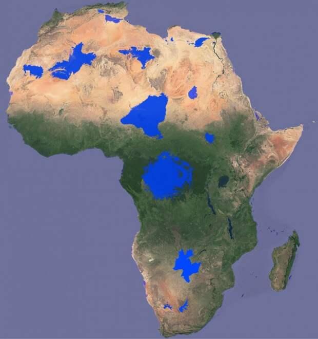 Обводнение Африки, эффективная российская вакцина и угроза 3-й мировой