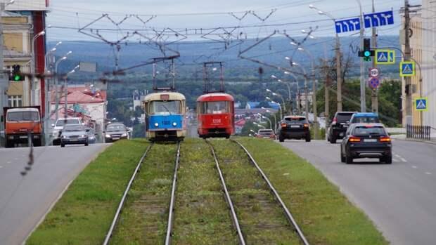 В Ижевске трамвай №7 будет ходить по выходным