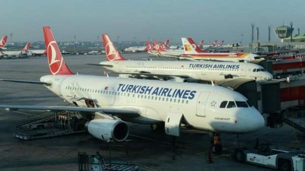 Россия закрыла авиасообщения с Турцией за поддержку агрессии Украины