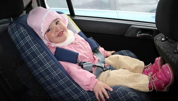 Сотрудники ГИБДД Подольска в среду проверят соблюдение правил перевозки детей