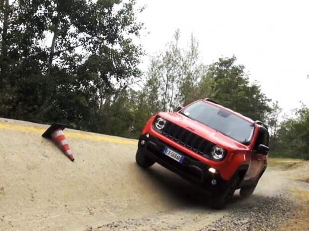 Тест-драйв самого компактного Jeep (ВИДЕО)