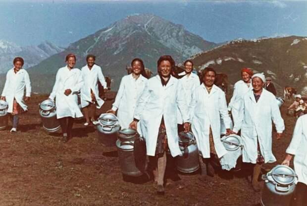 Как выглядела жизнь в советской Средней Азии (ФОТО)