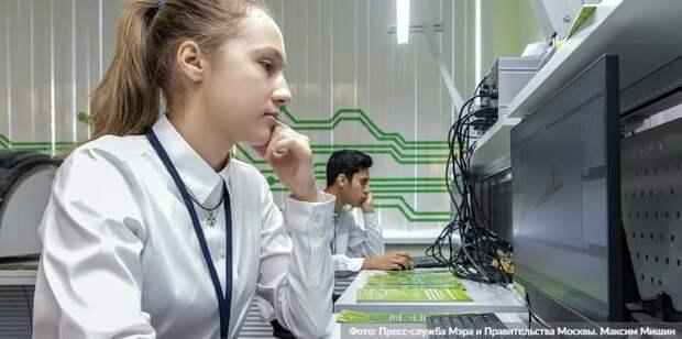Сергунина: Обучение в детских технопарках Москвы прошли более 280 тыс. школьников. Фото: М. Мишин mos.ru