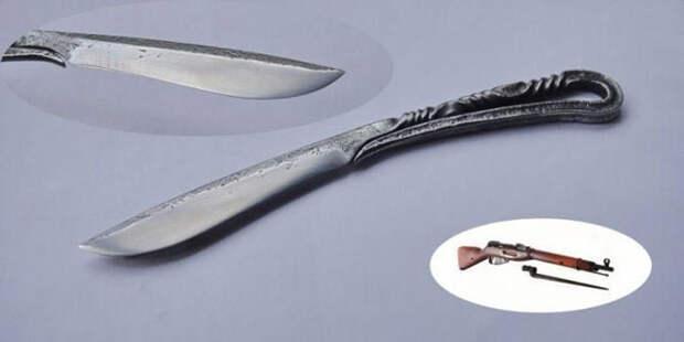 Творческие ножи, сделанные из неожиданных вещей