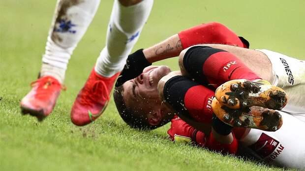 Зобнин из-за травмы пропустит ближайшие матчи сборной России