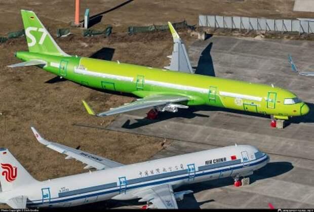 Airbus A321-271N авиакомпании S7 Airlines