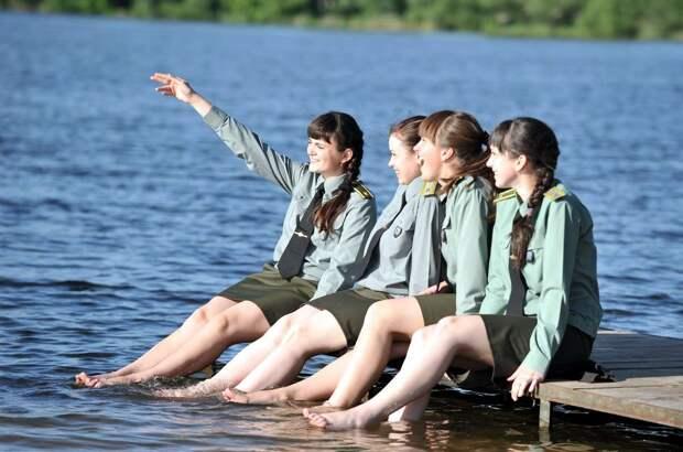 От тайги до британских морей ... : Лица девушек из Российской армии (48)