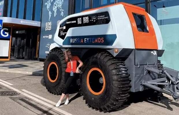 В России создан первый вездеход, который обходится без водителя