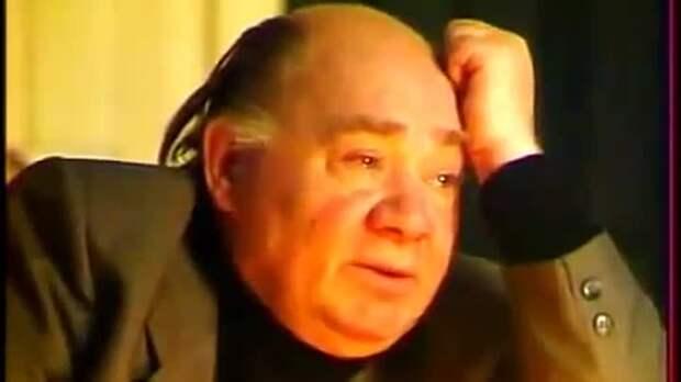 Одно из последних интервью Евгения Леонова, 1992