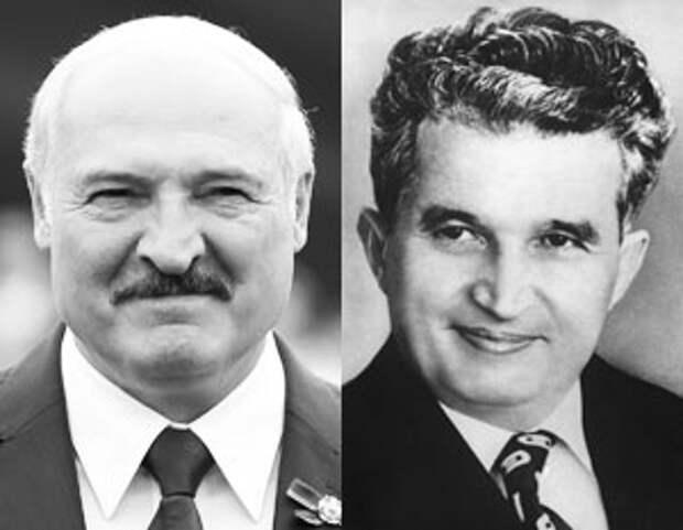 Белорусская оппозиция подставляется, сравнивая Лукашенко с Чаушеску