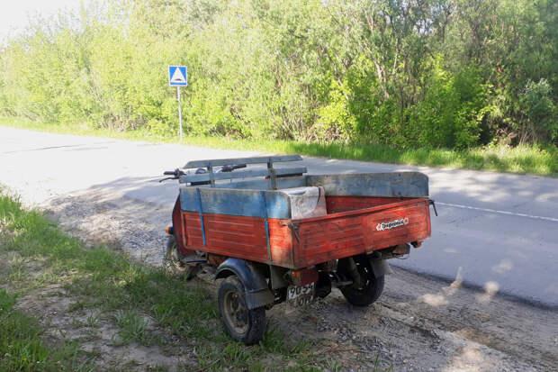 Самый лучший Советский мотороллер для деревни, Муравей