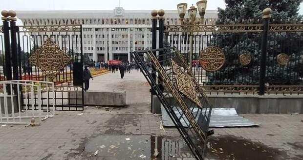 Полномочия президента Киргизии перешли к новому премьер-министру