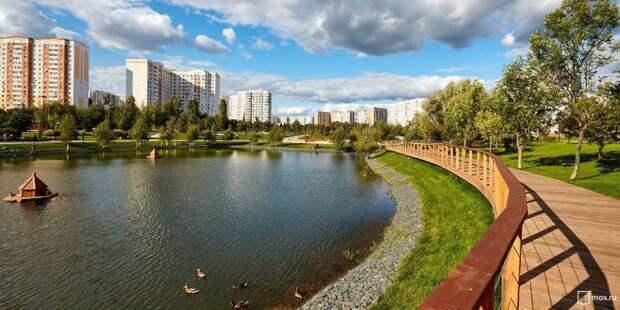 Собянин открыл самый большой городской парк за МКАД. Фото: mos.ru