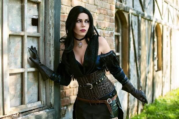 Красота и коварство - прекрасная Йеннифэр из Венгерберга из саги The Witcher