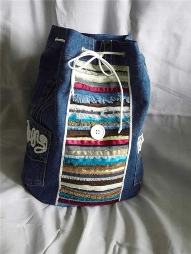 Что можно сделать из старых джинсов очумелые ручки, старые вещи, творчество, умелые руки