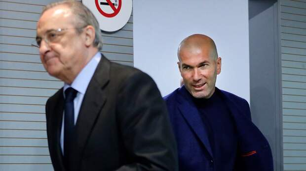 Источник: Зидан подумывает об уходе из «Реала» по окончании сезона