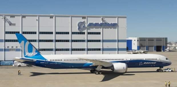 Boeing подтвердил ускорение производства Boeing 787