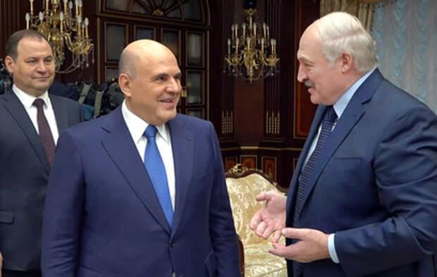 Мишустин оценил отношения России и Белоруссии