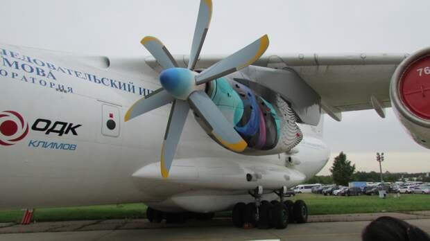 Завершен первый этап летных испытаний авиадвигателя для самолета Ил-112В