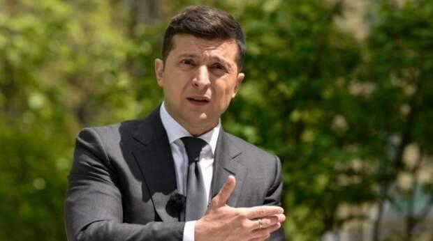 Во время выступления Зеленского разразился скандал