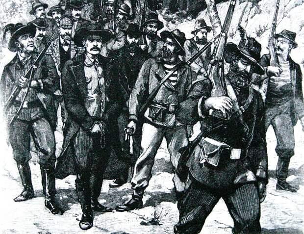 Англо-бурская война 1899—1902 гг. - 10 часть