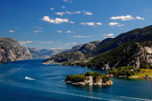 fjords10 Самые красивые фьорды Норвегии