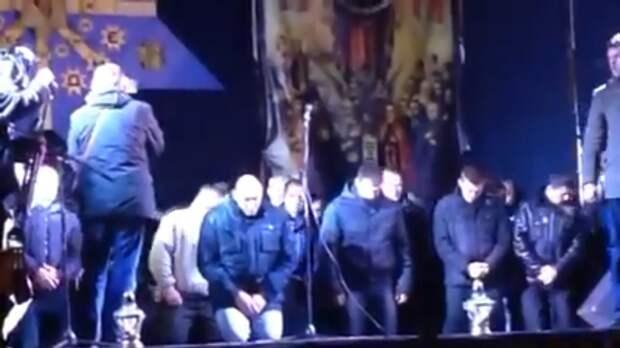 Оппозиция в Белоруссии захотела поставить силовиков на колени, как на Украине в 2014 году