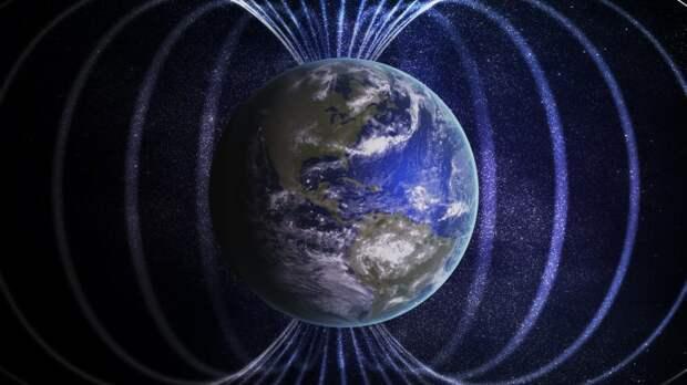 Ученые выяснили, почему магнитное поле Земли дергается каждые несколько лет